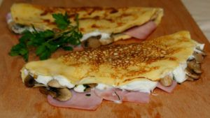 crepes-de-jamon-queso-y-champinones-light