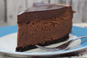 cheescake de chocolate
