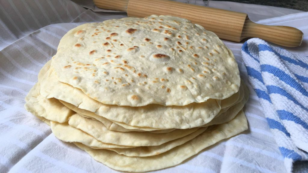 Tortillas de harina de trigo muy faciles, para burritos, quesadillas y sincronizadas